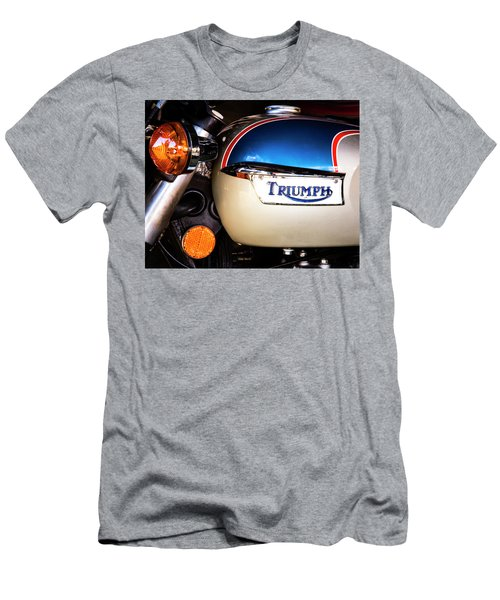 Triumph Motorcyle Men's T-Shirt (Slim Fit) by Andy Crawford