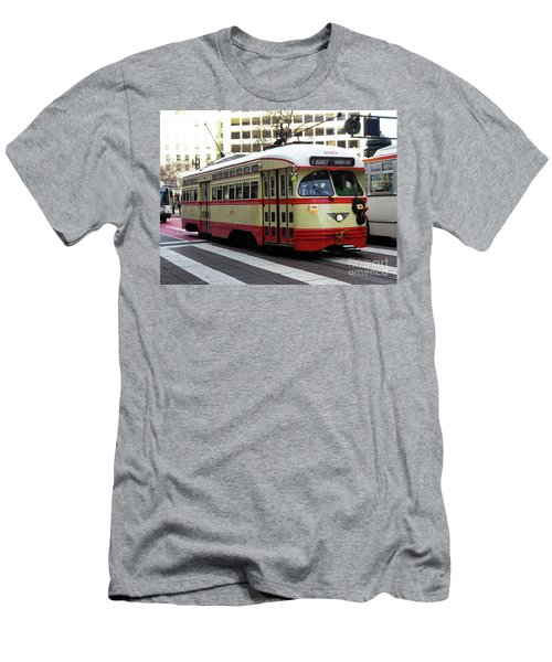 Trolley Number 1079 Men's T-Shirt (Athletic Fit)