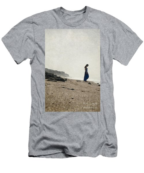 Tropical Beach Men's T-Shirt (Athletic Fit)