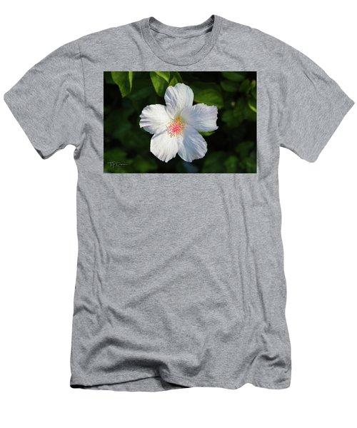 Tropical Flower 2 Men's T-Shirt (Athletic Fit)