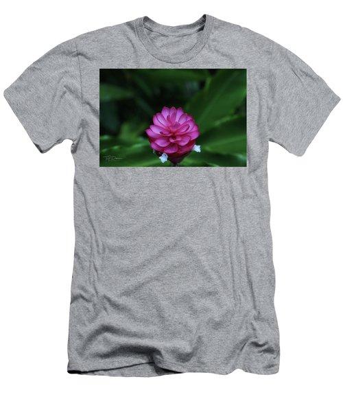 Tropical Flower Men's T-Shirt (Athletic Fit)