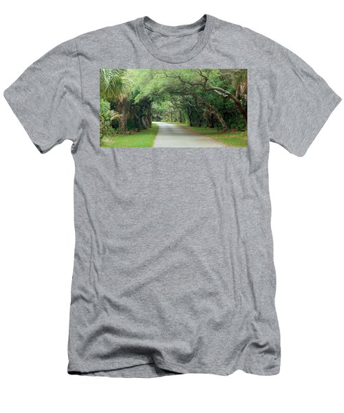 Tropical Magic Forest Men's T-Shirt (Athletic Fit)