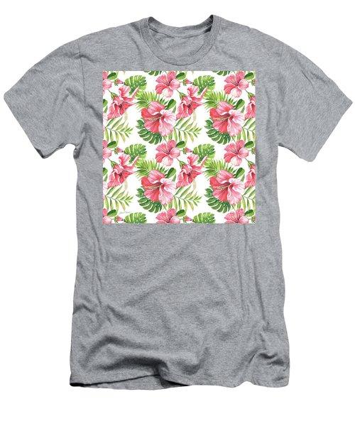 Tropical Paradise-jp3962 Men's T-Shirt (Athletic Fit)