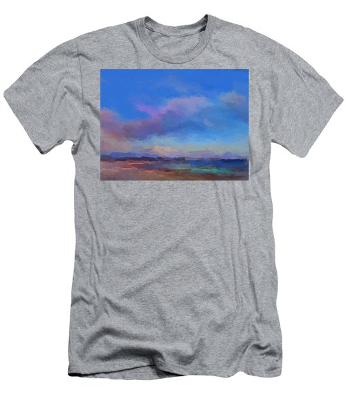 Tropical Seascape Men's T-Shirt (Athletic Fit)