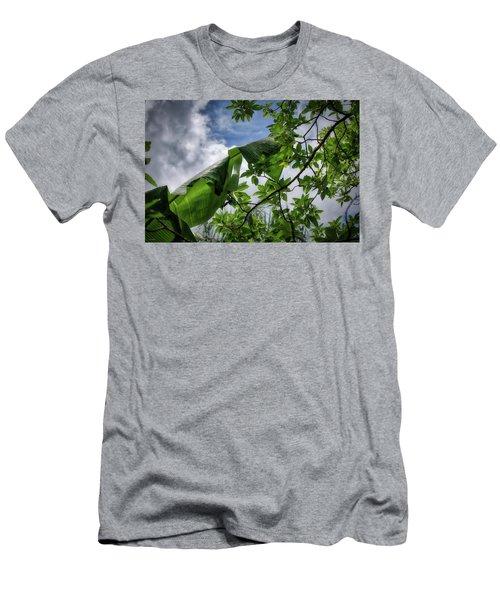 Tropical Sky Men's T-Shirt (Athletic Fit)