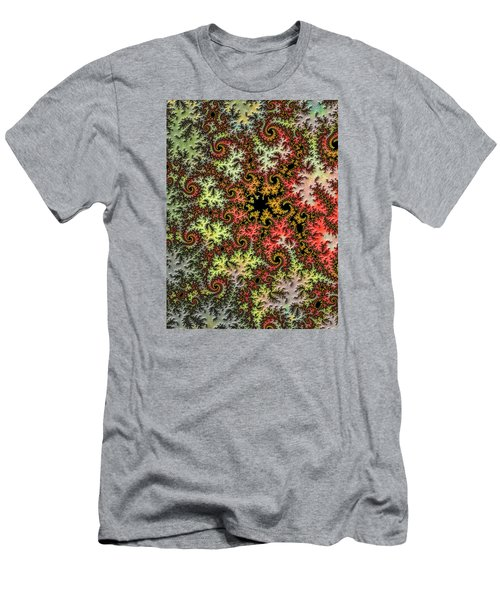 Men's T-Shirt (Slim Fit) featuring the photograph Tropical Storm Embroidered by Ronda Broatch