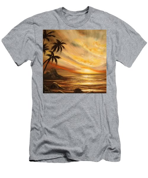 Tropical Sunset 65 Men's T-Shirt (Athletic Fit)