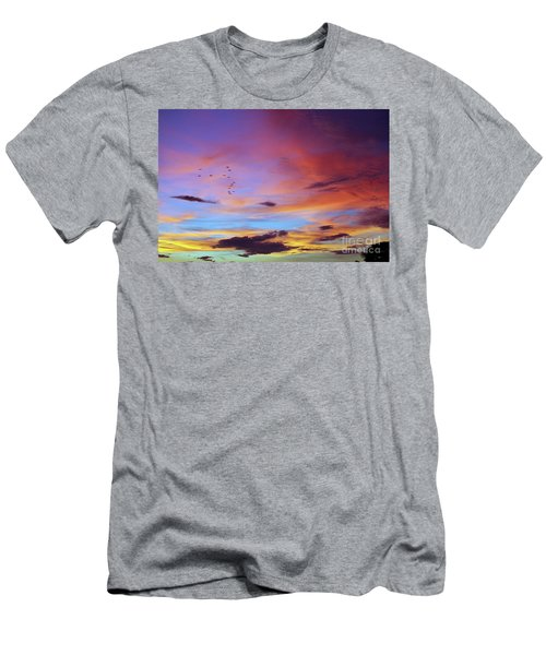 Tropical North Queensland Sunset Splendor  Men's T-Shirt (Athletic Fit)
