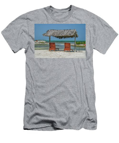 Tropical Vacation Men's T-Shirt (Slim Fit) by Patricia Hofmeester