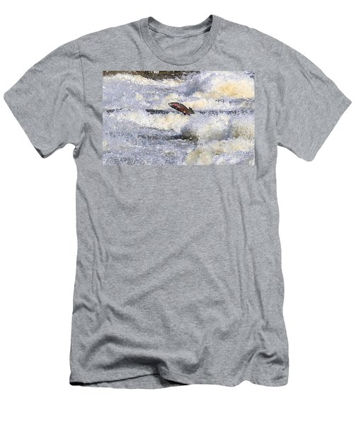 Men's T-Shirt (Slim Fit) featuring the digital art Trout by Robert Pearson
