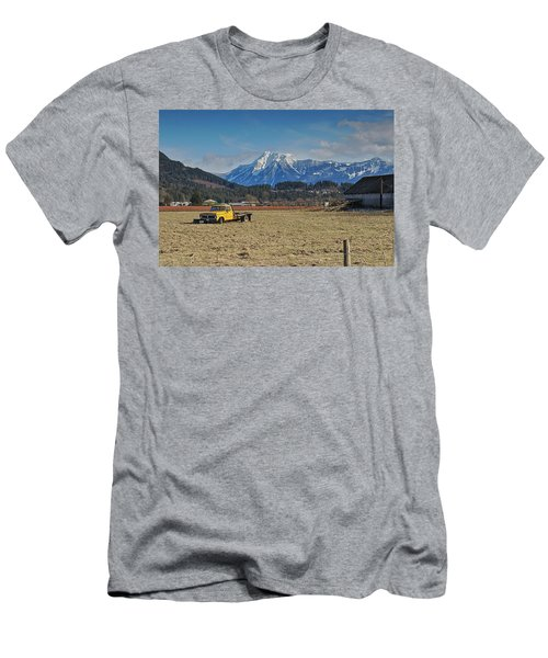 Truck In Harison Mills Men's T-Shirt (Athletic Fit)