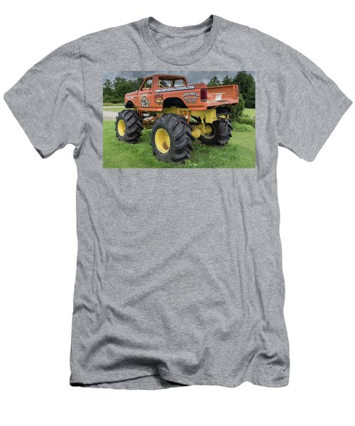 Men's T-Shirt (Athletic Fit) featuring the photograph Trucks Gone Wild by Guy Whiteley
