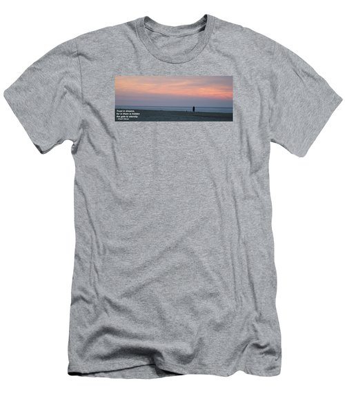 Men's T-Shirt (Slim Fit) featuring the photograph Trust In Dreams... by Robert Banach