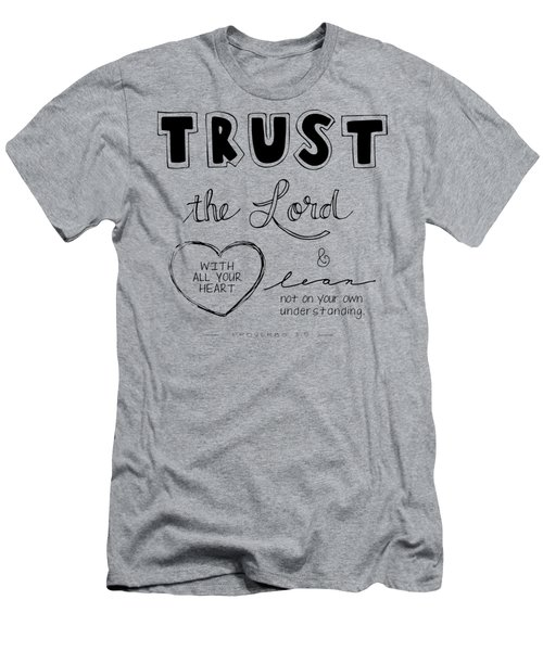 Trust Men's T-Shirt (Athletic Fit)