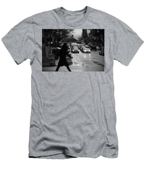Men's T-Shirt (Slim Fit) featuring the photograph Trying To Stand Out  by Empty Wall