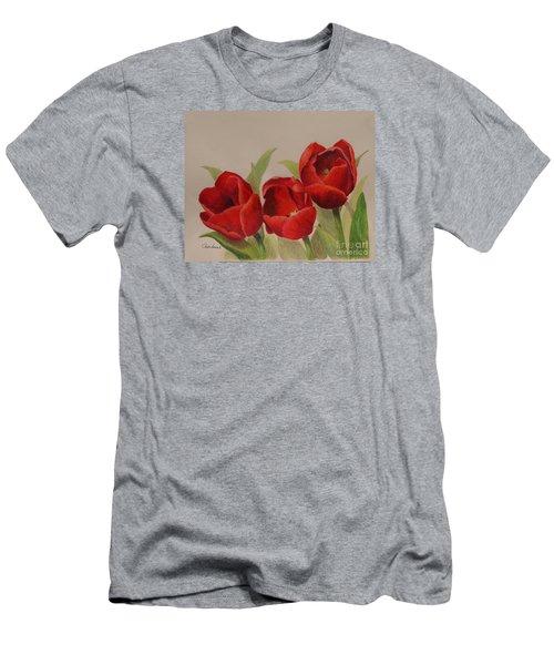 Tulip Trio Men's T-Shirt (Athletic Fit)