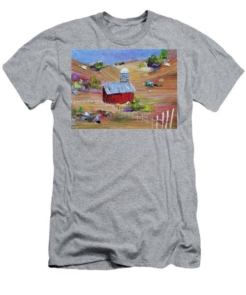 Tunkhannock Farm Men's T-Shirt (Athletic Fit)