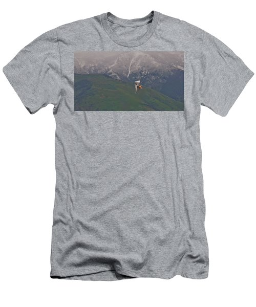 Turn And Burn Men's T-Shirt (Athletic Fit)