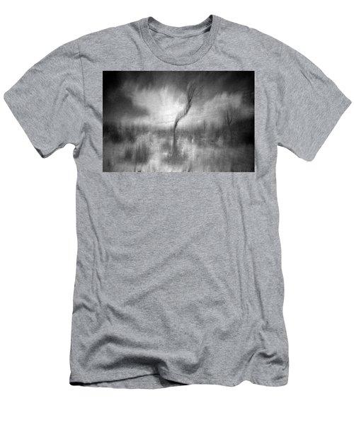 Turn Around  Men's T-Shirt (Athletic Fit)