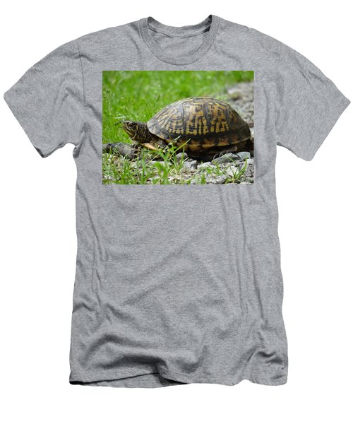 Turtle Crossing Men's T-Shirt (Athletic Fit)