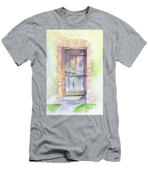 Tuscan Doorway Men's T-Shirt (Athletic Fit)