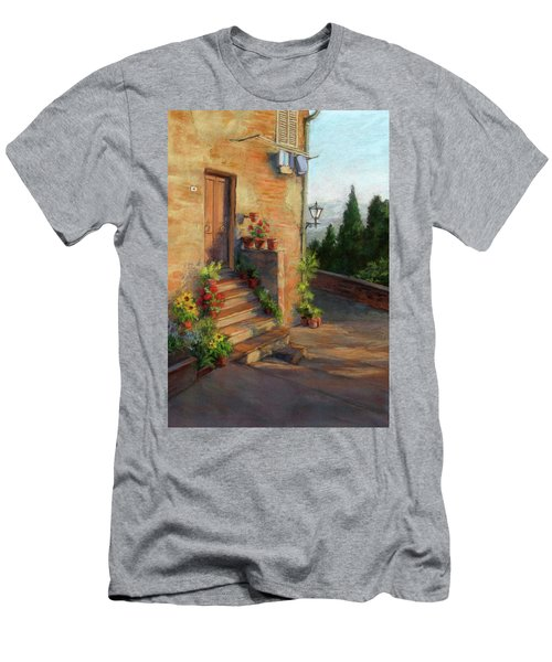 Tuscany Morning Light Men's T-Shirt (Slim Fit)