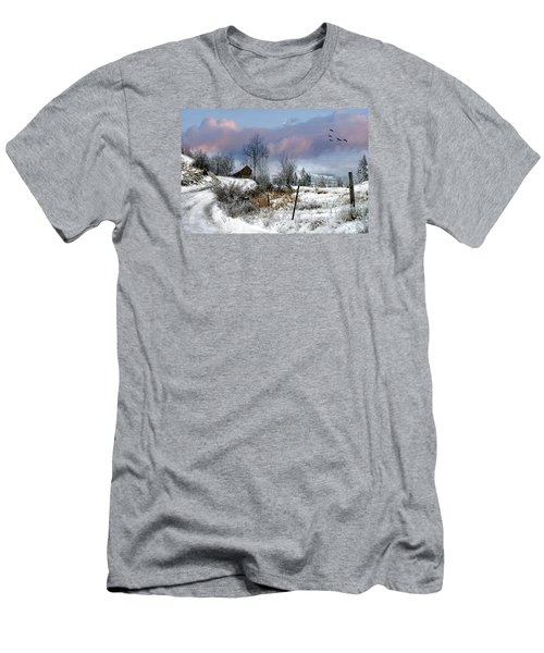 Twain's Barn Men's T-Shirt (Athletic Fit)
