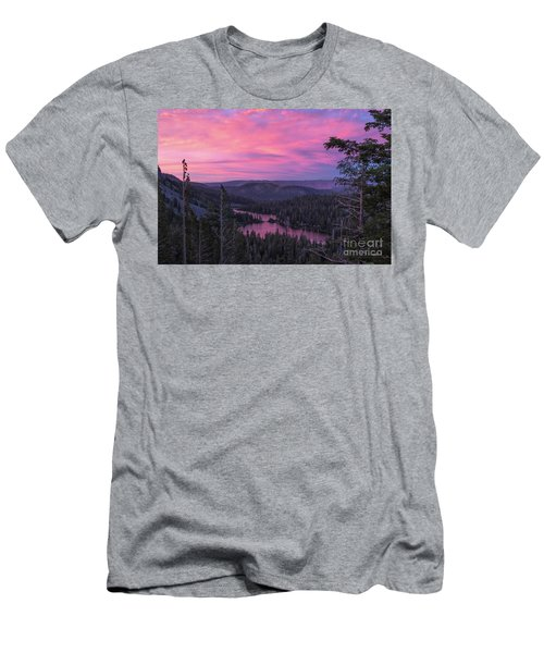 Twilight Mammoth Lakes  Men's T-Shirt (Athletic Fit)