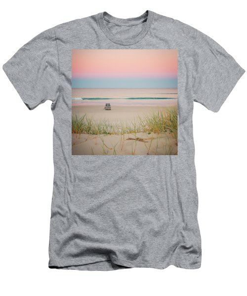 Twilight On The Beach Men's T-Shirt (Athletic Fit)