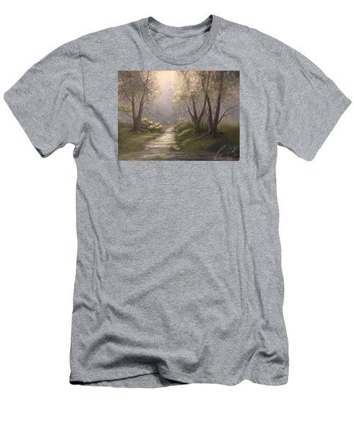 Twin Oaks  Men's T-Shirt (Athletic Fit)
