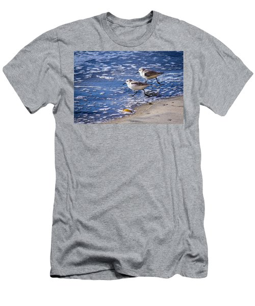 Twin Plovers Men's T-Shirt (Athletic Fit)