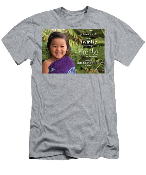 Twinkle Smile Men's T-Shirt (Athletic Fit)