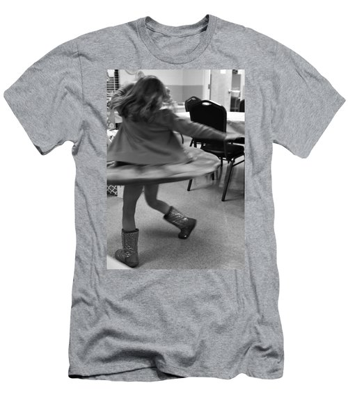Twirling Girl  Men's T-Shirt (Athletic Fit)