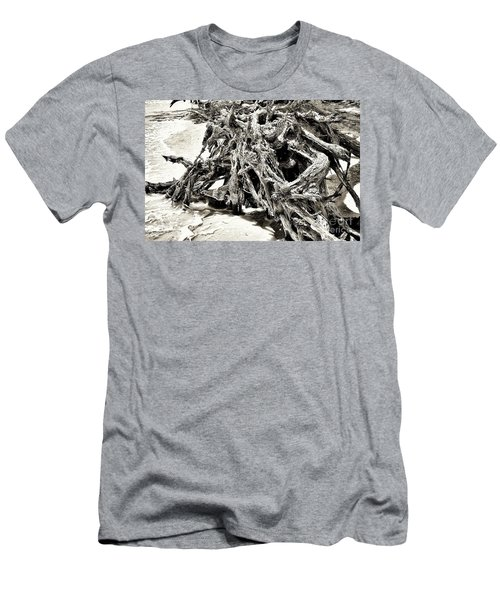 Twisted Driftwood Men's T-Shirt (Athletic Fit)