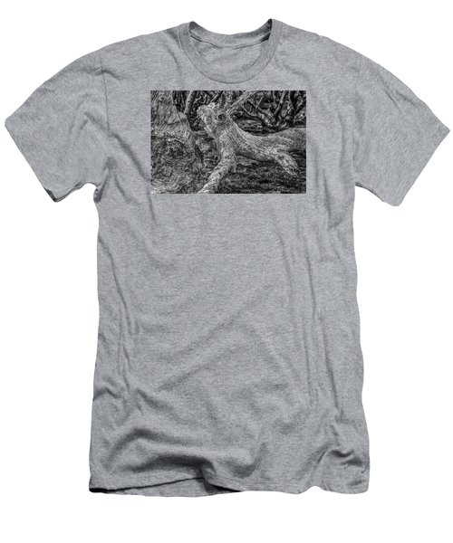 Twisted Men's T-Shirt (Slim Fit) by Mark Lucey