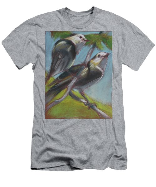 Two Gray Jays Men's T-Shirt (Athletic Fit)