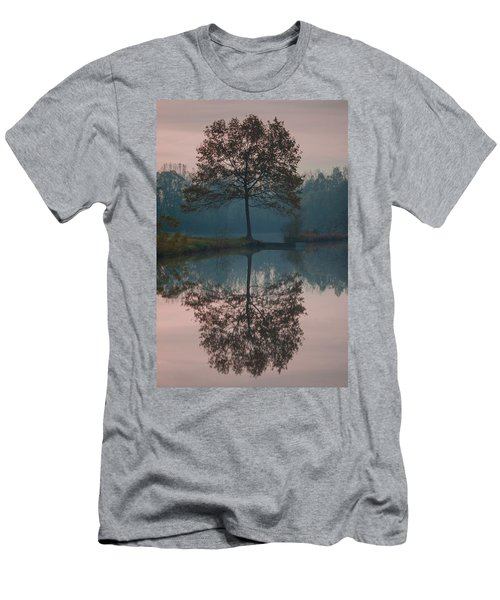 Men's T-Shirt (Athletic Fit) featuring the photograph Two Loners by Davor Zerjav