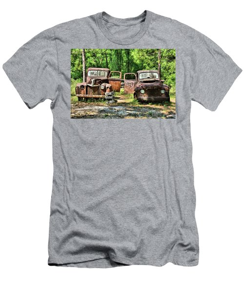 Two Old Dogs Men's T-Shirt (Athletic Fit)