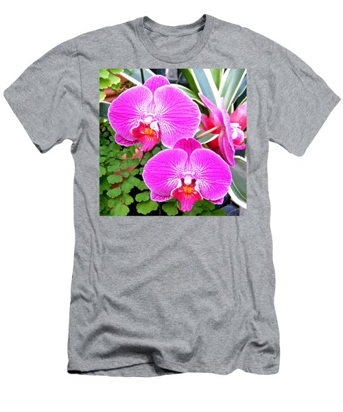 Two Orchids Men's T-Shirt (Athletic Fit)