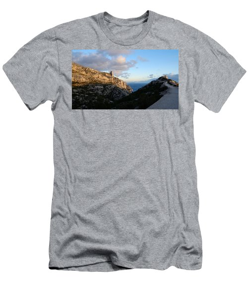Men's T-Shirt (Athletic Fit) featuring the photograph Two Point View by August Timmermans