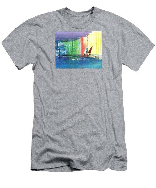 Two Sails Men's T-Shirt (Athletic Fit)