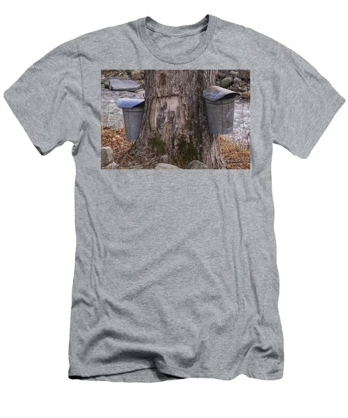 Two Syrup Buckets Men's T-Shirt (Athletic Fit)