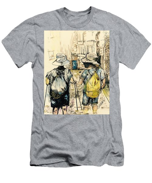 Texans On The Camino De Santiago Men's T-Shirt (Athletic Fit)