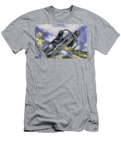 Ubiquitous Harley-davidson Cult Men's T-Shirt (Slim Fit)