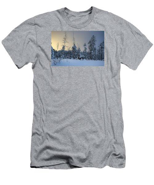 Ufo II Men's T-Shirt (Slim Fit) by Dan Hefle
