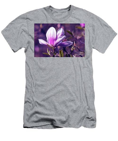 Ultra Violet Magnolia  Men's T-Shirt (Athletic Fit)