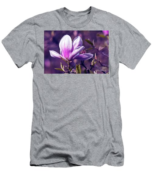 Ultra Violet Magnolia  Men's T-Shirt (Athletic Fit)
