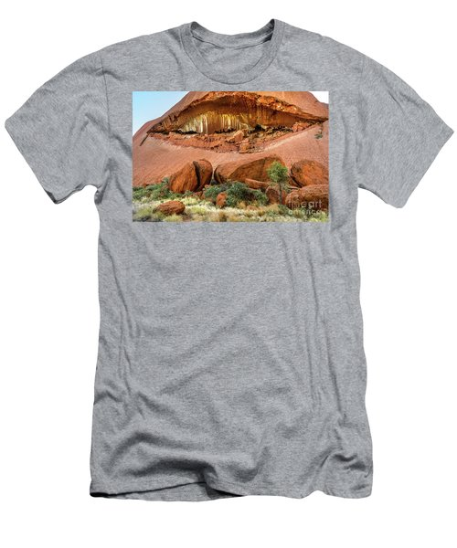 Men's T-Shirt (Athletic Fit) featuring the photograph Uluru 06 by Werner Padarin