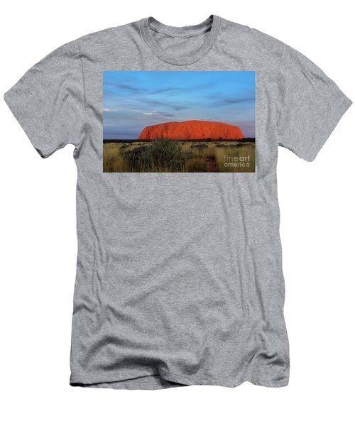 Uluru Sunset 03 Men's T-Shirt (Athletic Fit)
