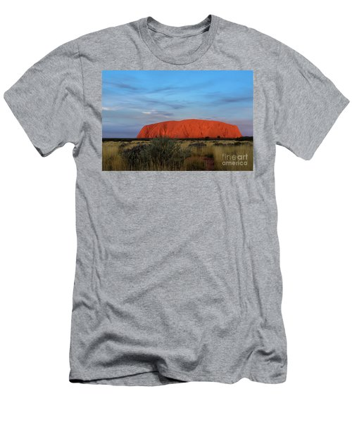 Uluru Sunset 03 Men's T-Shirt (Athletic Fit)